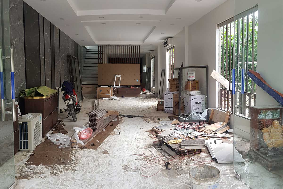 House Cleaning Service Before