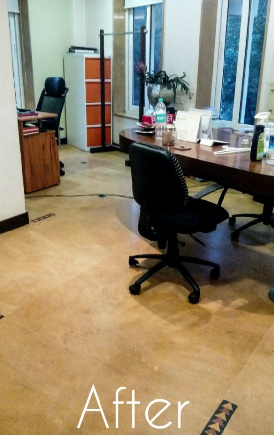 Office Cleaning After