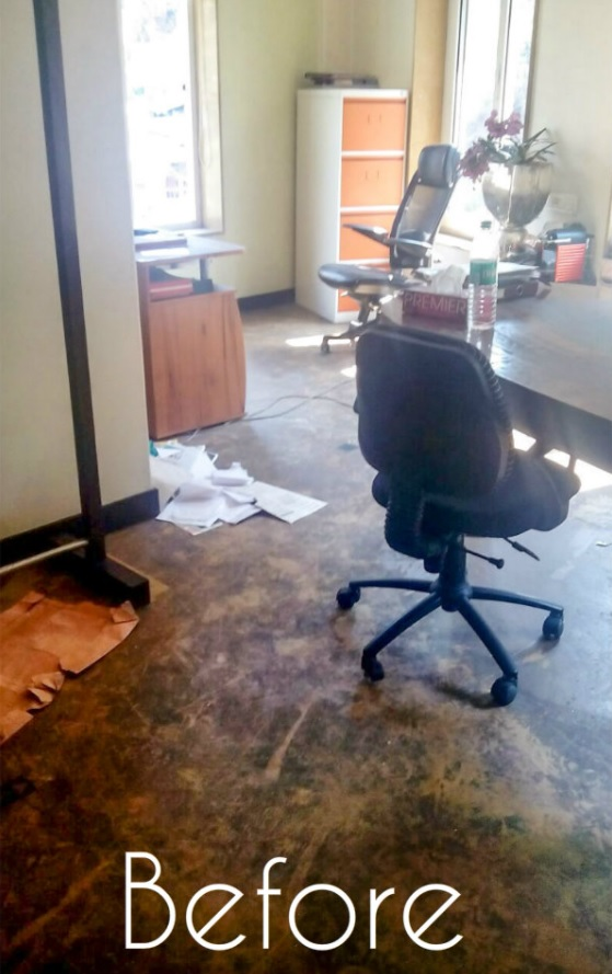 Office Cleaning Before